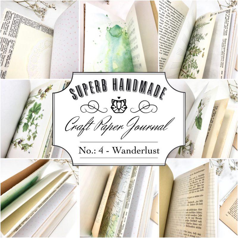 Paper Journal Nr. 4 - Wanderlust