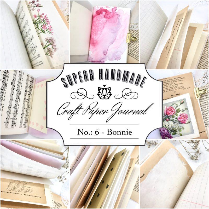 Paper Journal Nr. 6 - Bonnie