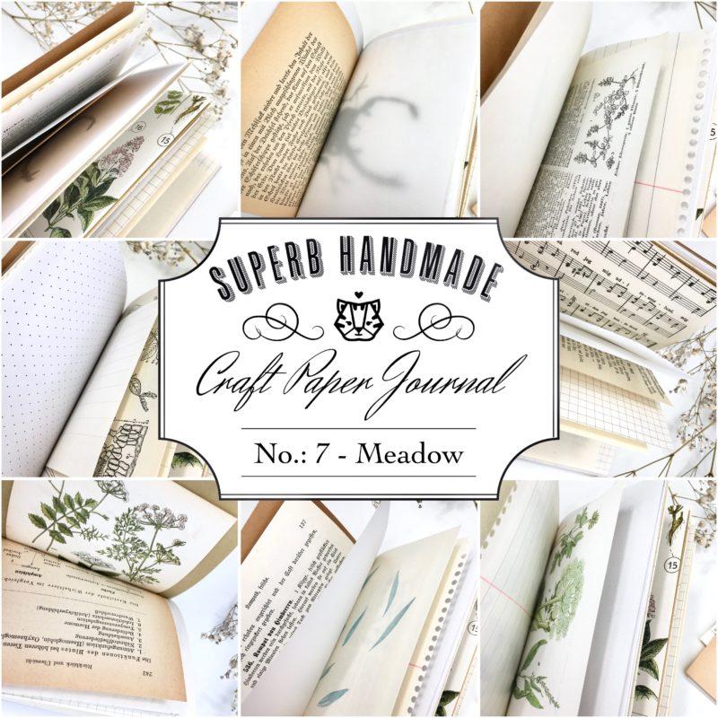 Paper Journal Nr. 7 - Meadow
